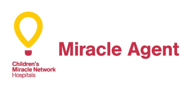 CMN_Miracleagent-logos with CMN Hospitals logo and wordmark