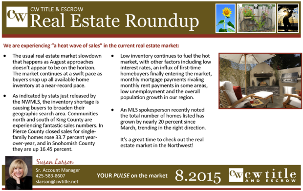 Real Estate Round up